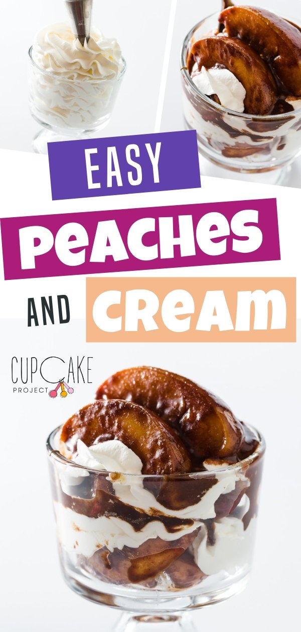 Easy Peaches and Cream Recipe