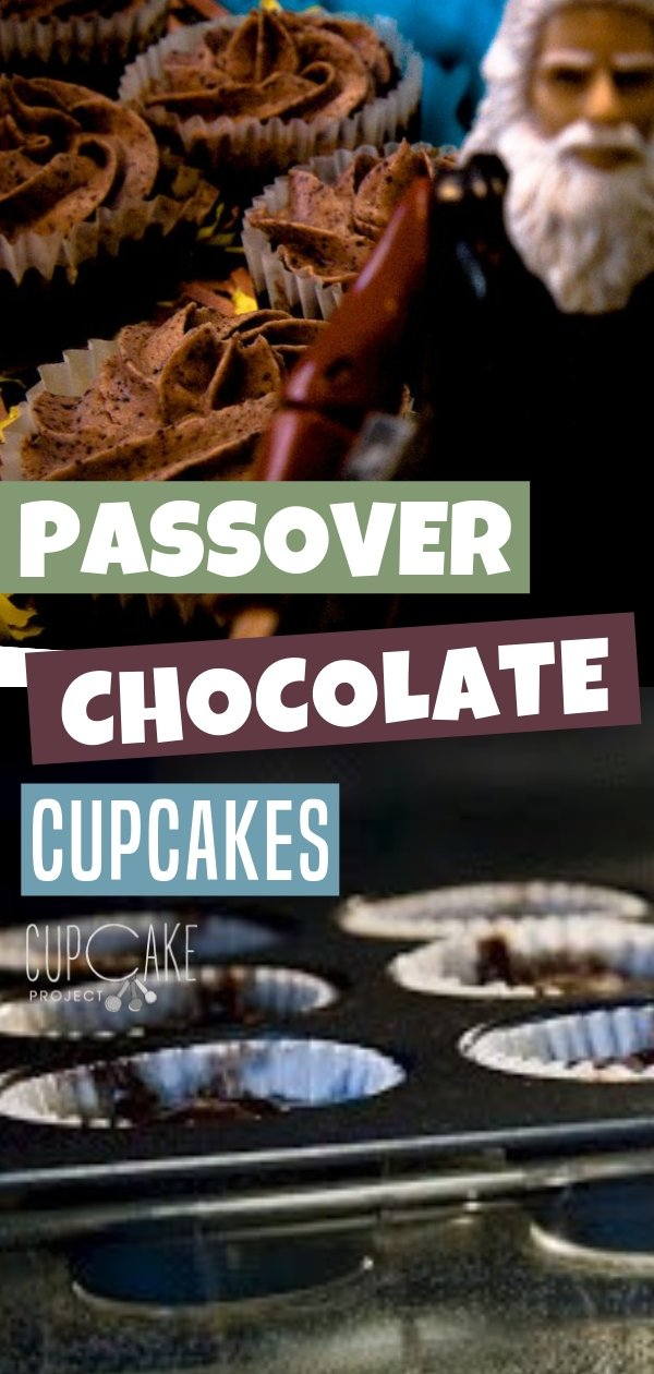 Incredibly rich mini cupcakes perfect as a Passover dessert. This recipe is flourless with chocolate cream cheese frosting. You can also make this treat any time of the year. Enjoy baking this yummy food!
