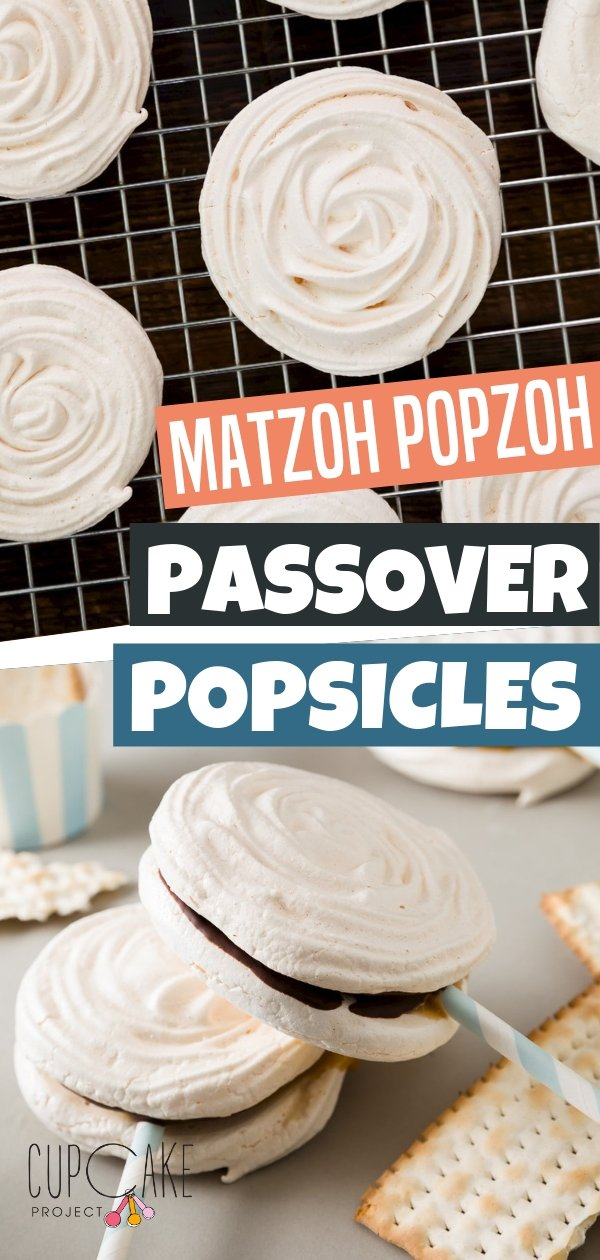 An adorable meringue popsicle with a wonderful combination of flavors and texture. Matzoh Popzoh is a Passover dessert that is chewy, crispy, chocolatey, and caramel-sweetened. Follow this blog and learn how to make this recipe!