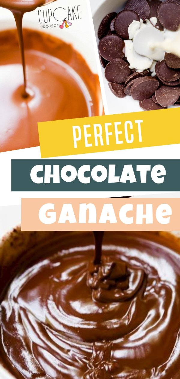 Easy Perfect Chocolate Ganache