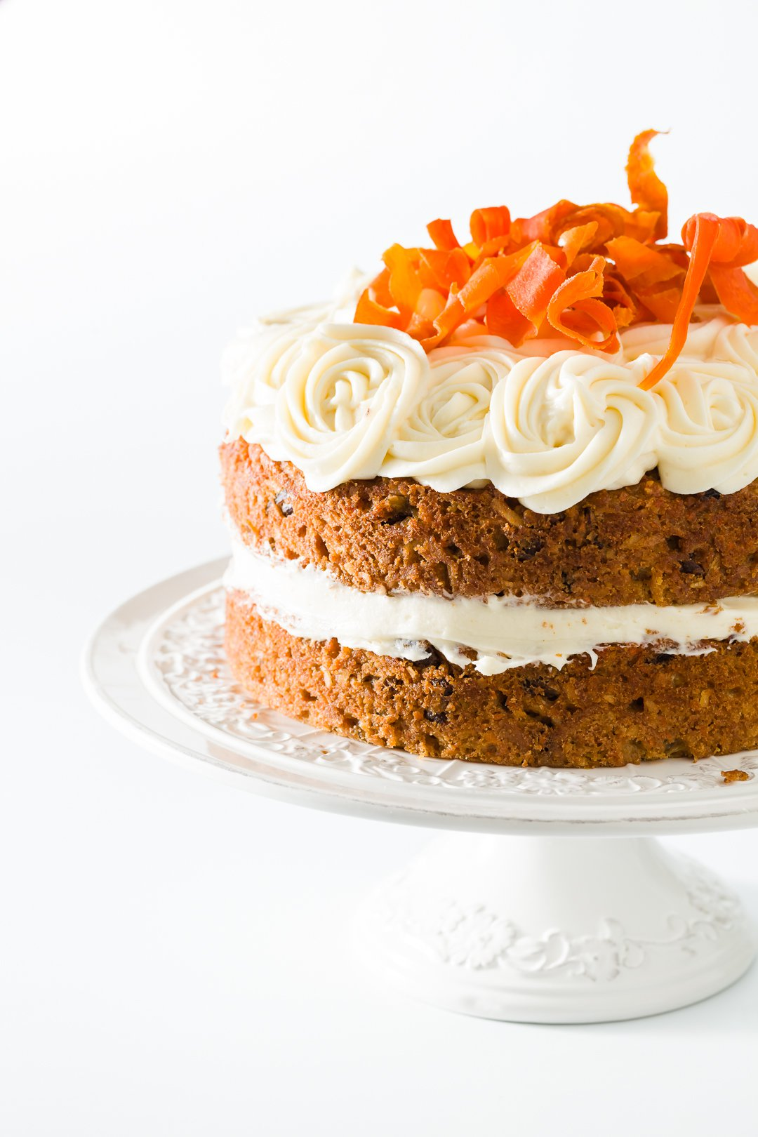 Moist Carrot Cake with Pineapple