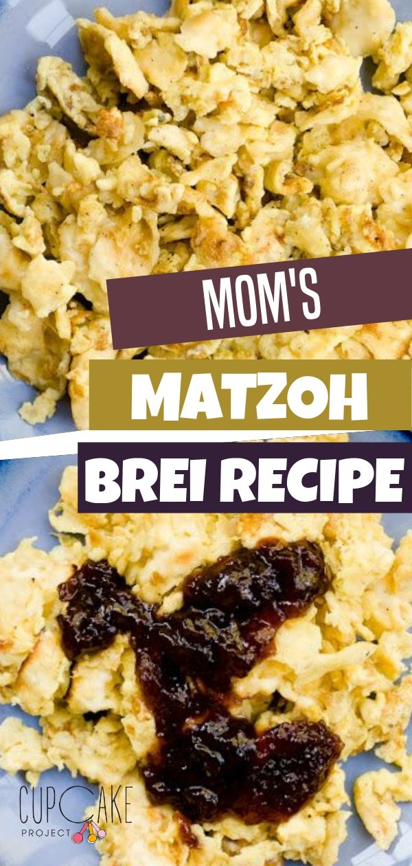 The classic Passover breakfast of eggs mixed with fried matzoh! This Jewish recipe is quick and easy ready in 10 minutes! Learn to make this Matzo Brei!