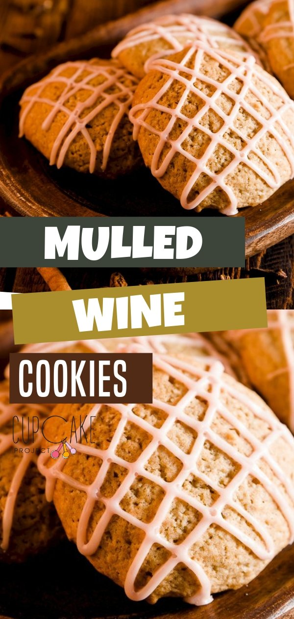Large soft spice cookies with mulled wine poured right into the batter! These mulled wine cookies are made from scratch ready in 20 minutes. This dessert recipe is wonderful, but the icing is what makes it truly shine. Give this a try!