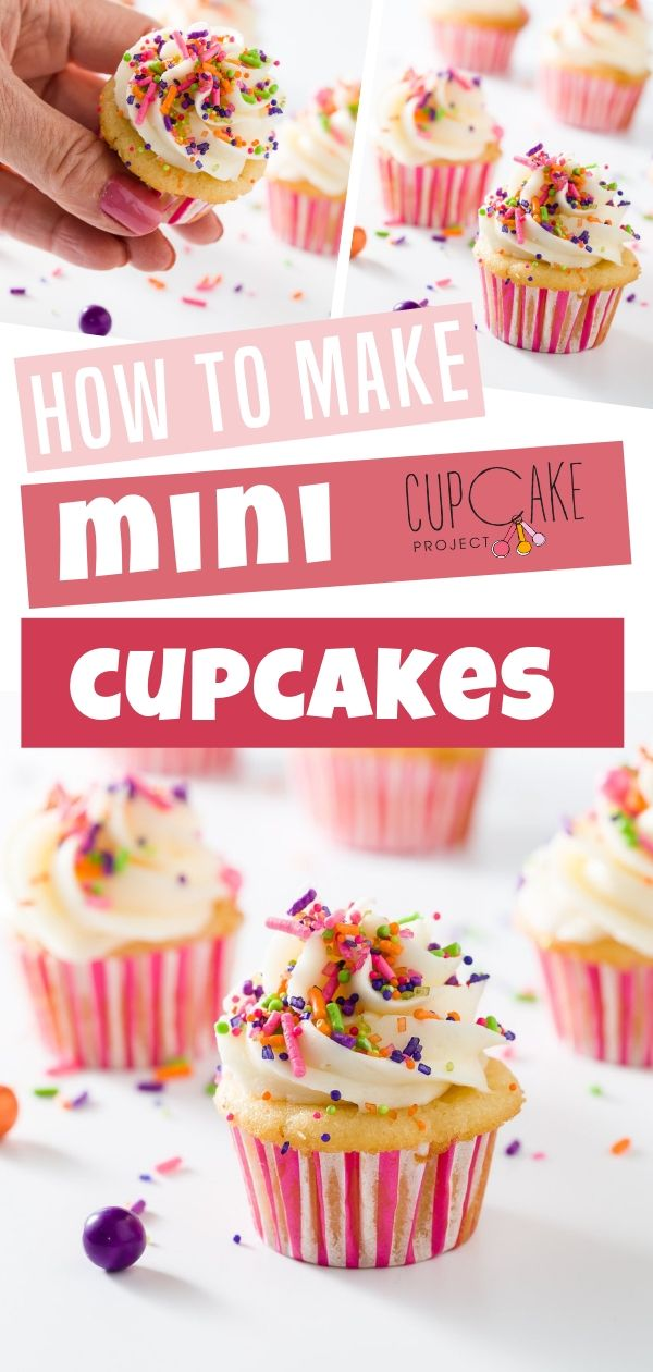 How to Make Mini Cupcakes