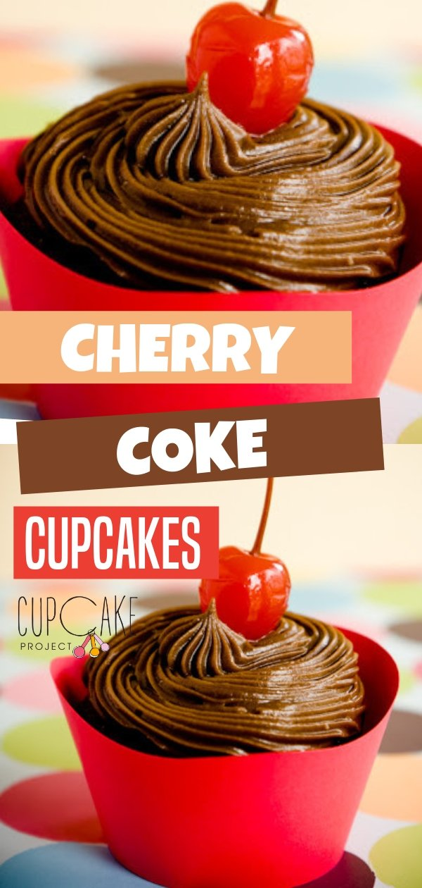 Moist maraschino-filled cherry Coke cupcakes perfect for a crowd! This cupcake is easy and will fit your budget. Plus it has a secret ingredient to make a frosting that tastes just like Coke without being watery. Try this amazing dessert recipe!