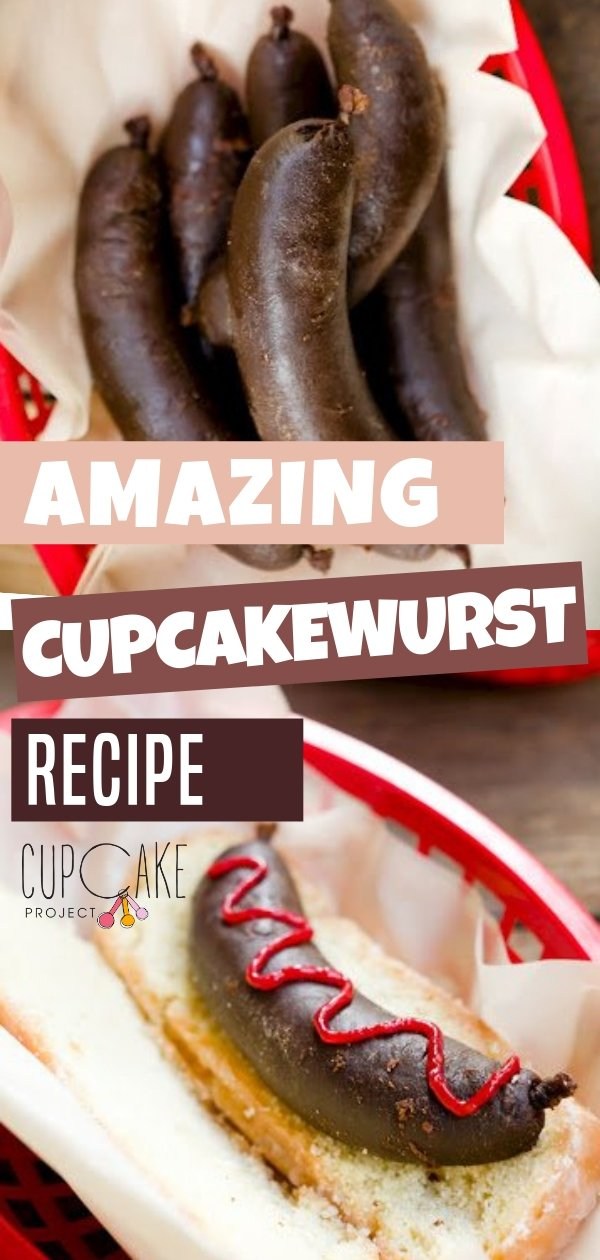 One crazy idea is a cupcakewurst chocolate flavor filled with sausages! It is something different to try on a summer day. Create a new way to make your snack a little unique in a sweet way. Follow the simple instructions and you\'re good to go!
