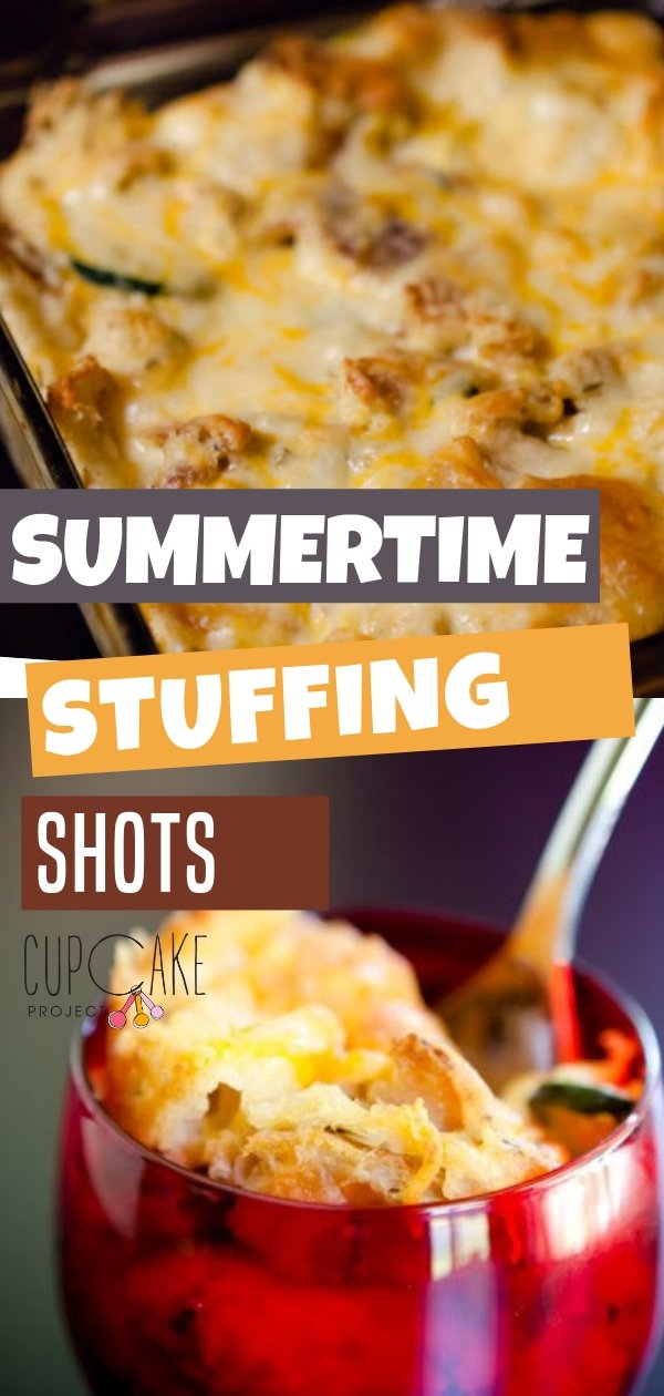 Modifying the savory zucchini and goat cheese bread pudding recipe dessert is amazingly tasty! This summer, the focus is on the edible kind of stuffing - savory bread pudding loaded with farm fresh vegetables. Serve it at your next dinner party!