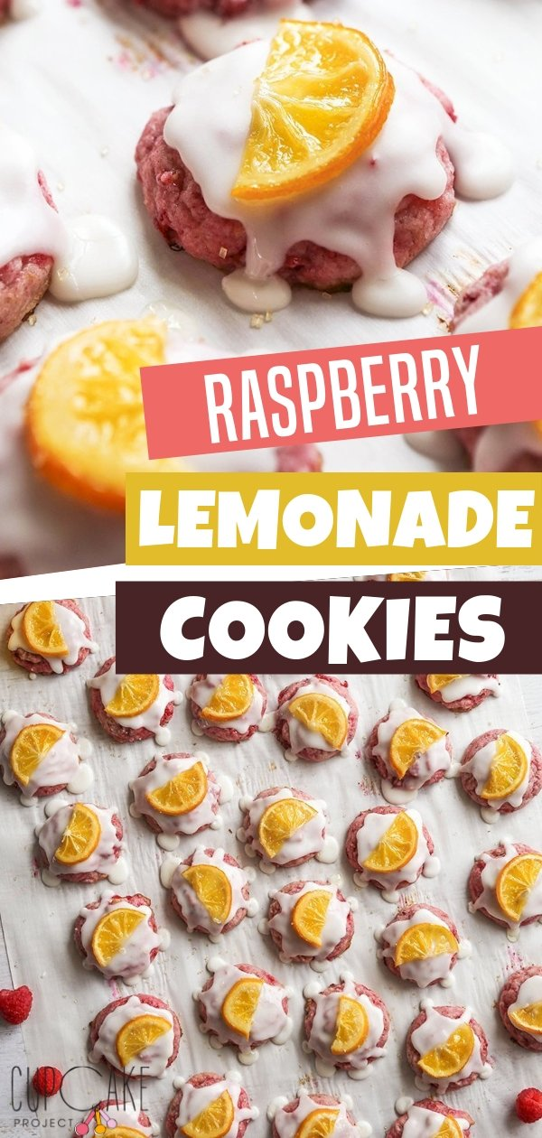 Raspberry Lemonade Cookies