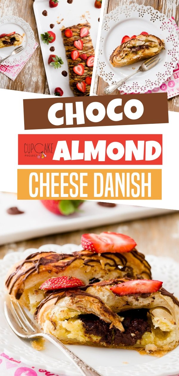 Perfect breakfast-in-bed! Try this chocolate almond cheese danish recipe together with a cup of coffee or tea and it will surely make your partner fall in love with you again. This would be a great way to start your day perfect ahead!