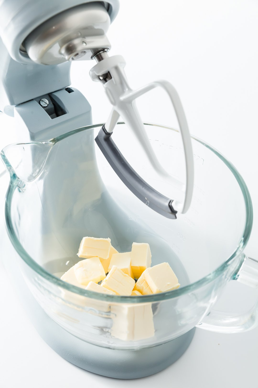 Butter in a kitchenaid mixer