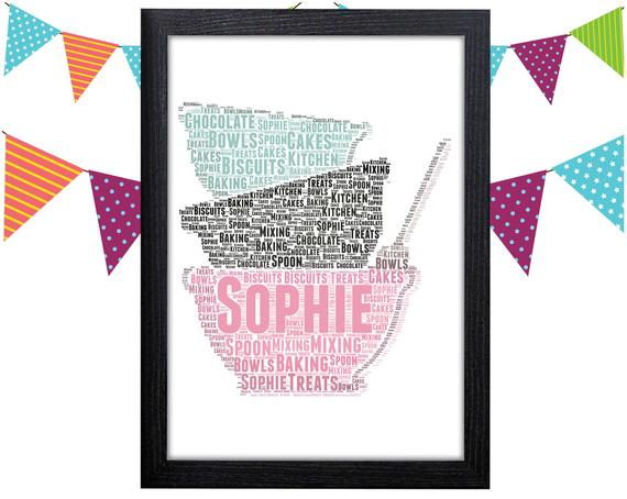 Personalised Kitchen Art Print