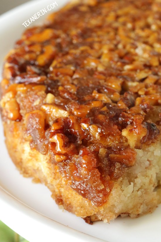 Apple Upside Down Cake with Honey