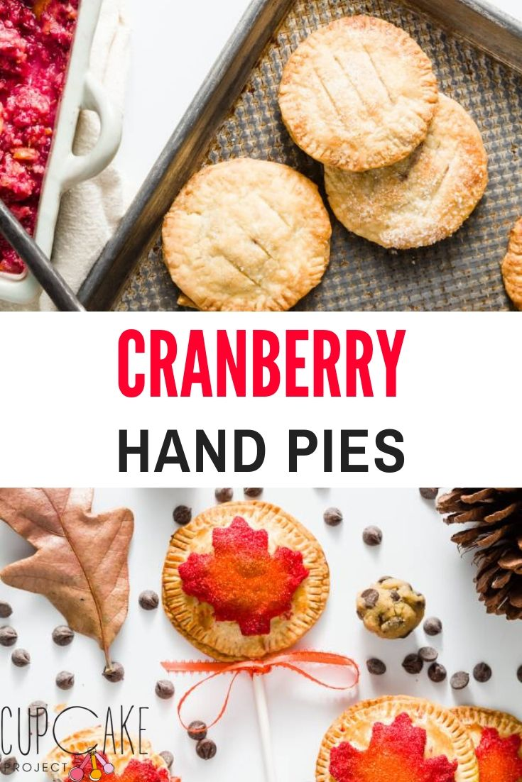 Hand pies are such a simple alternative to traditional pies. They are made using pie dough and any pie filling you like and can be baked or fried. These cranberry hand pies are sweet, tart, tangy, and perfect for fall and winter. #cranberryhandpies #handpies