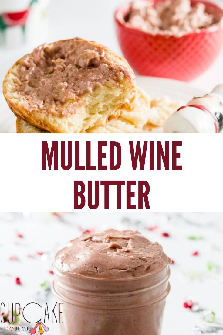 This Mulled Wine Butter is flavored with spiced wine that you can use anywhere you would use regular butter.