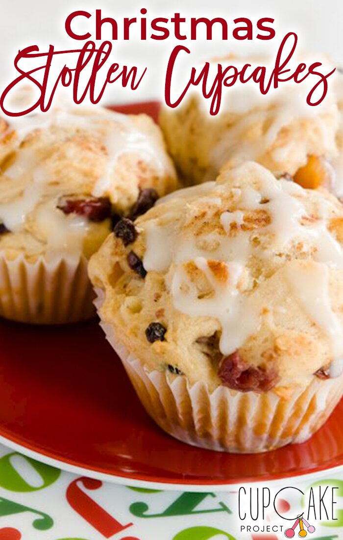 Christmas Stollen Cupcakes – A Christmas Classic Transformed
