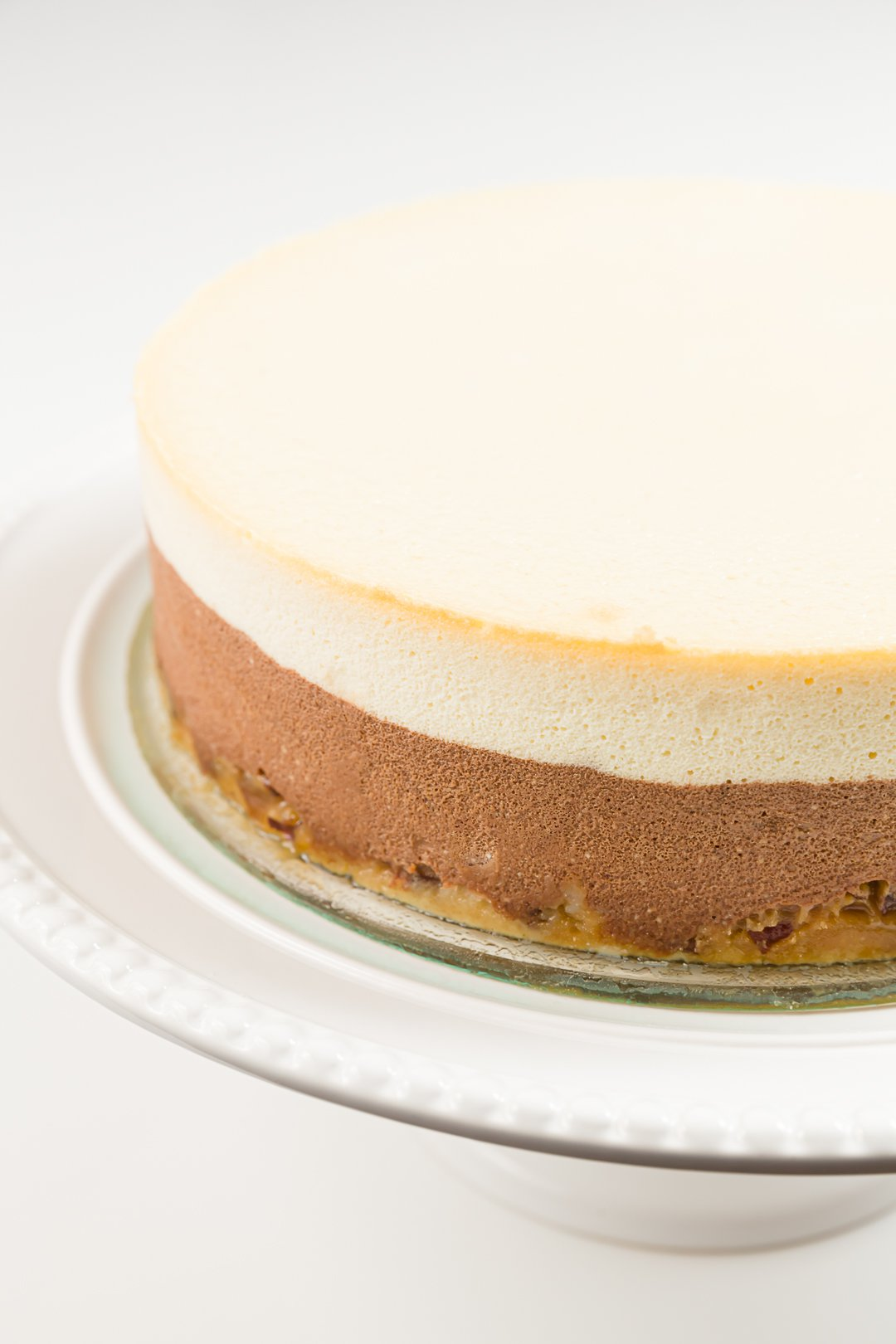 Cheesecake with no cracks