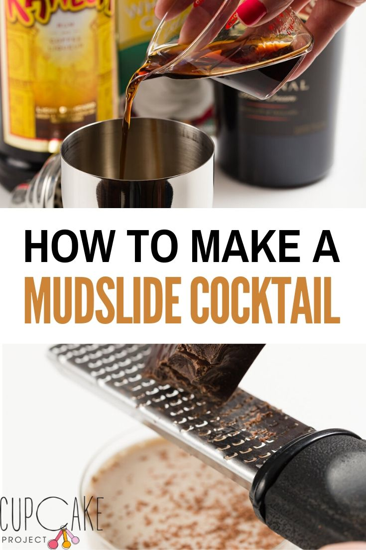 How to Make a Mudslide Cocktail - Frozen Mudslide and Traditional Mudslide Cocktails