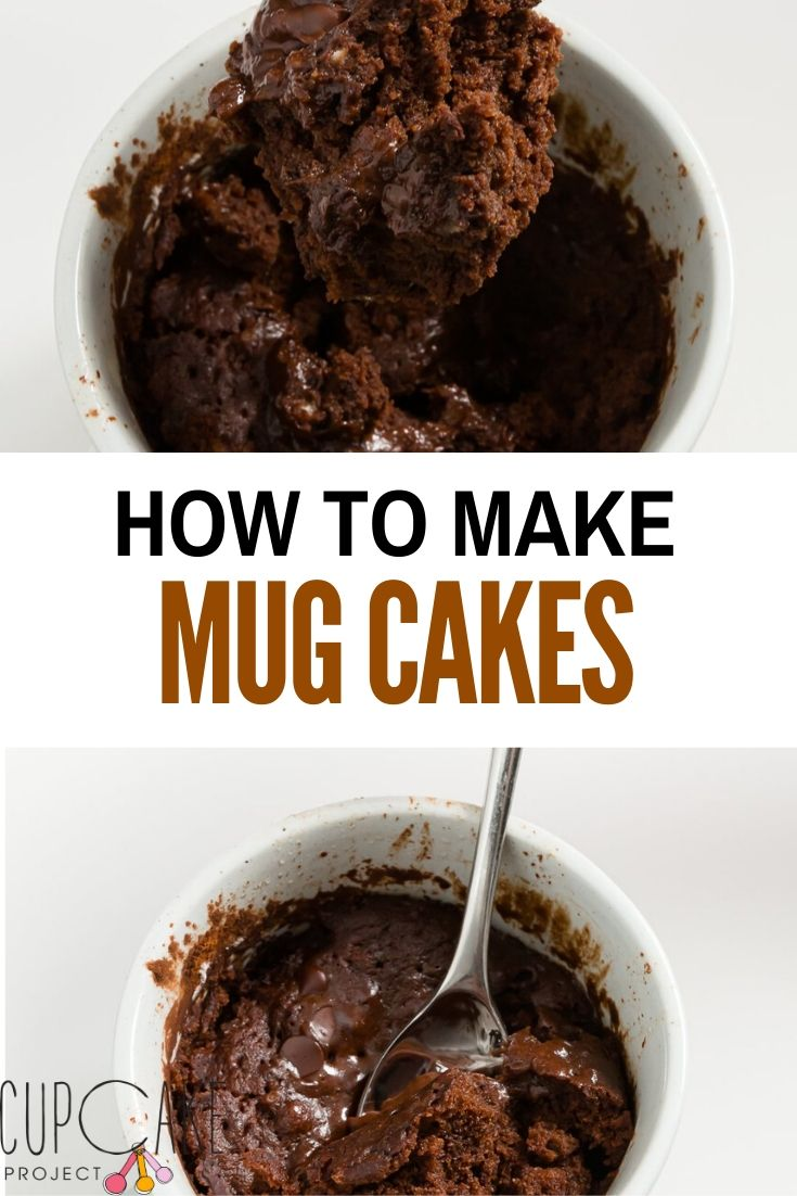 These mug cakes taste like the best molten chocolate cake that you would get at a restaurant, but you can make them at home in minutes using your microwave! Unlike some other microwave chocolate cakes, my recipe for mug cakes uses both melted chocolate and cocoa powder so it\'s extra chocolaty!
