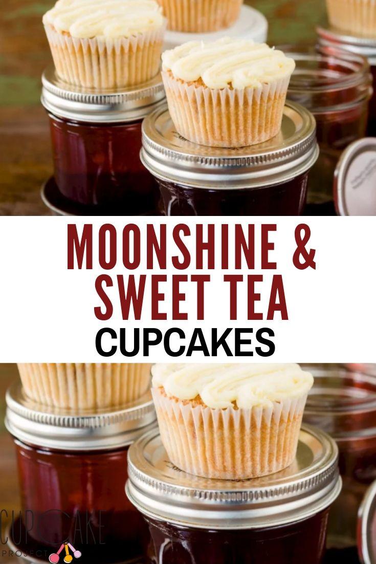 Moonshine and Sweet Tea Cupcakes