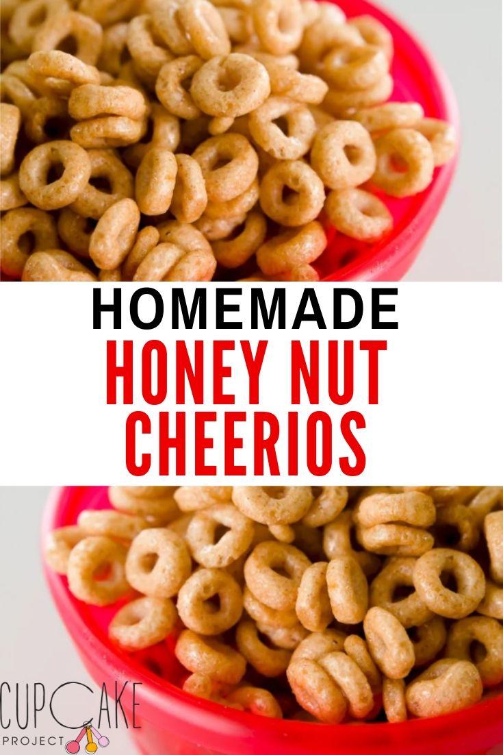 Homemade Honey Nut Cheerios in Three Minutes