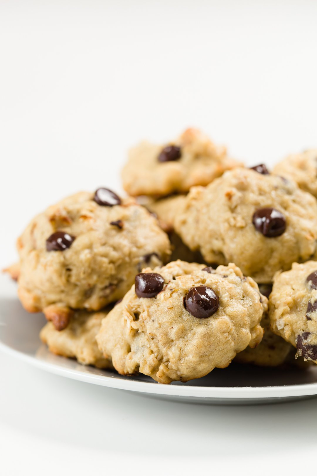 Banana Cookies with Chocolate Chips
