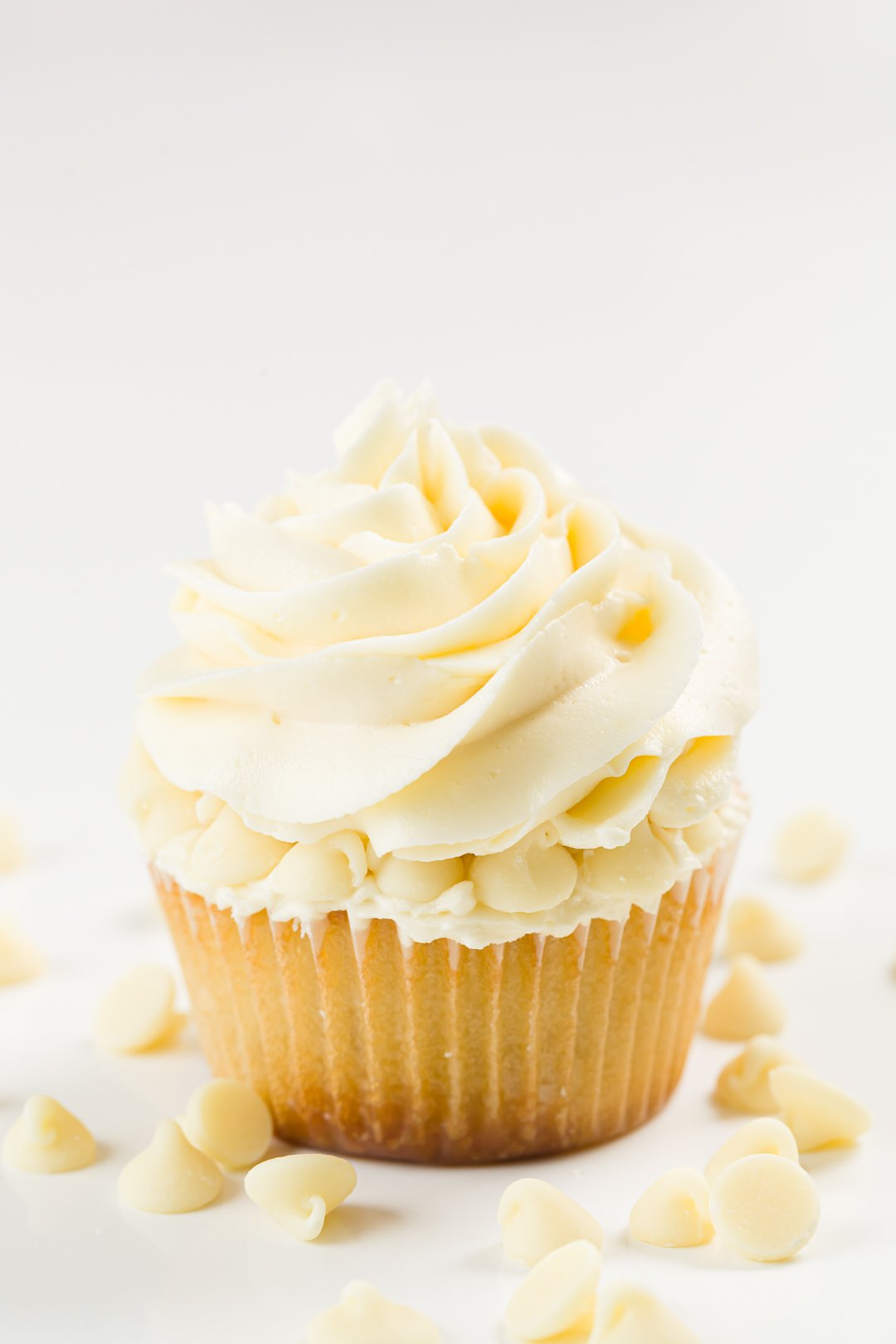 White Chocolate Cupcakes Cupcake Project